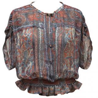 Isabel Marant Silk Chiffon Blouse