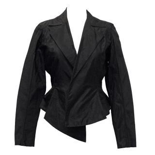 Donna Karan Black Silk Top