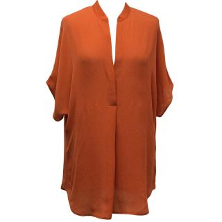 Vince Coral Loose Fitted Blouse