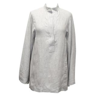 Amanda Wakeley Grey Linen Tunic