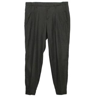 Vince Black Tapered Trousers