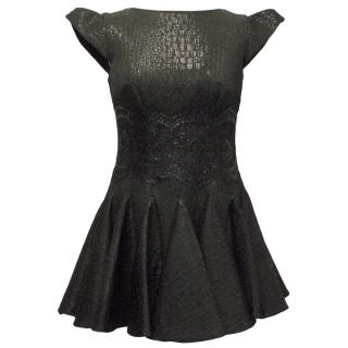 Philip Armstrong Black Skater Dress