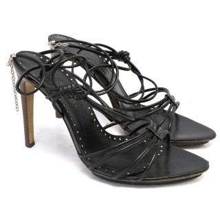 Yves Saint Laurent Black Sandals