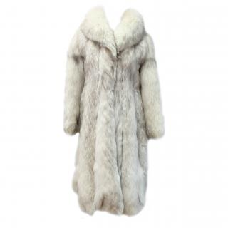 Vintage Arctic Fox Coat