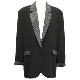 By Malene Birger Black Studded Blazer