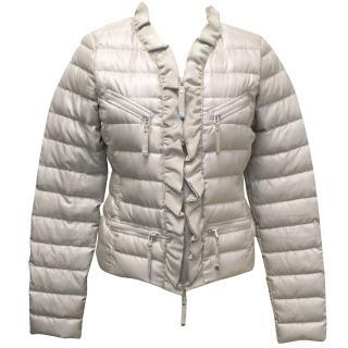 Pinko Light Taupe Down Jacket