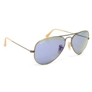 Ray Ban Blue Lens Aviator Sunglasses