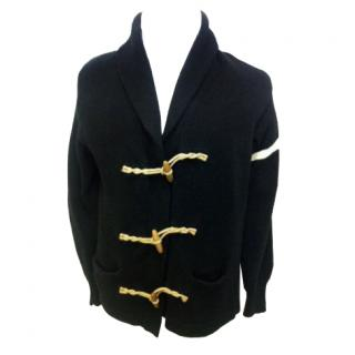 Polo Ralph Lauren black nautical cardigan