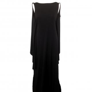 BCBG Max Azria black evening dress