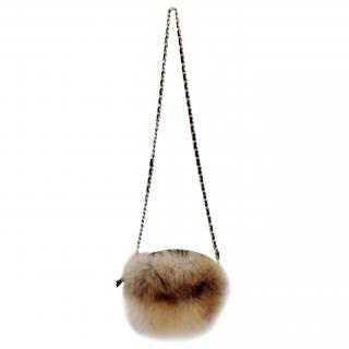 Maje fur bag