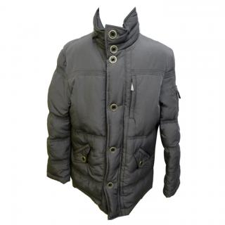 Versace jeans grey puffa jacket
