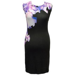 McQ Alexander McQueen Multicoloured Print Jersey Dress