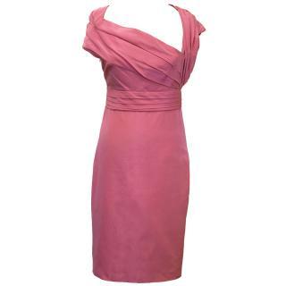 Valentino Pink Silk Dress
