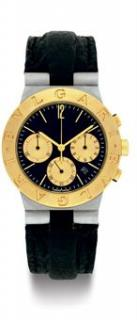 Bvlgari Diagono Chronograph Steel & 18 k gold