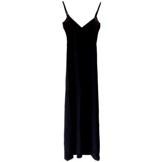 Winter Kate silk maxi dress