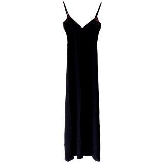 Winter Kate silk maxi dress