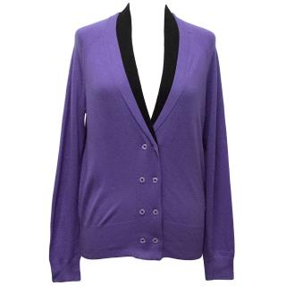 Paul Smith Black Label Purple Cardigan