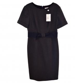 Carolina Herrera Classic Dress in Dark Navy