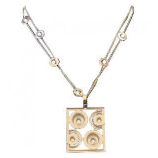 Chopard Happy Spirit necklace in 18k white gold