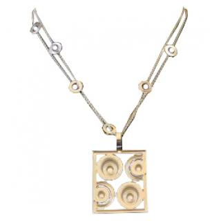 Chopard Happy Spirit necklace in 18k white gold