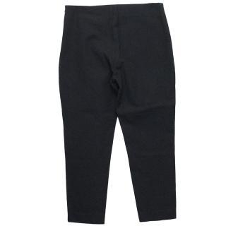 Joseph Navy 'Tony Cropped Gab Stretch' Trousers