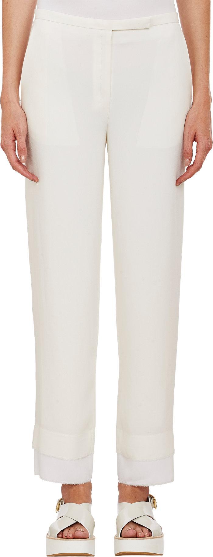 Edun White/Ivory Cropped Trousers (RPP �400)