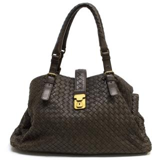 Bottega Veneta Brown Woven Bag