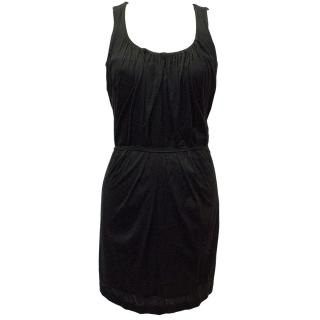 Massimo Dutti Black Sleeveless Dress