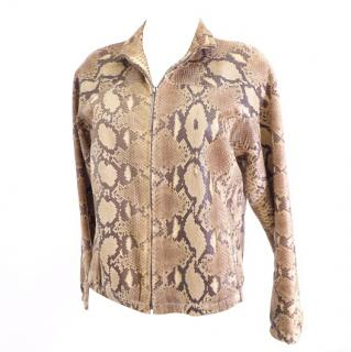 GUCCI by Tom Ford Runway Python Jacket