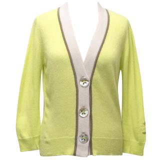 Quenne Belle Lime Green Cardigan