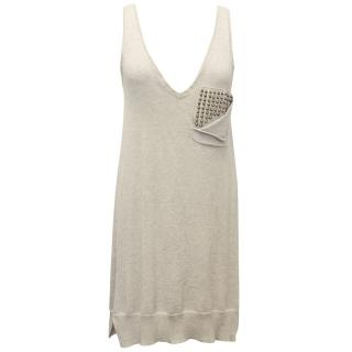 Zadig & Voltaire Beige dress with Studs