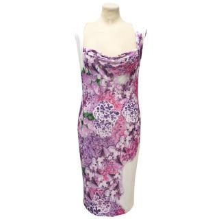 Just Cavalli Flower Print Dress