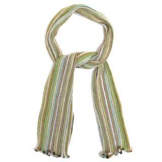 Missoni Knitted Striped Scarf