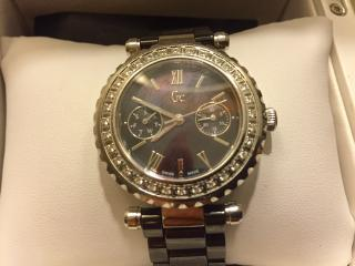 Gc by Guess Ladies Diamond Watch