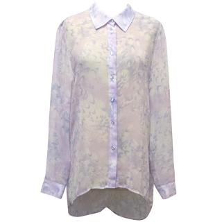 Style Stalker Sheer Lilac Shirt