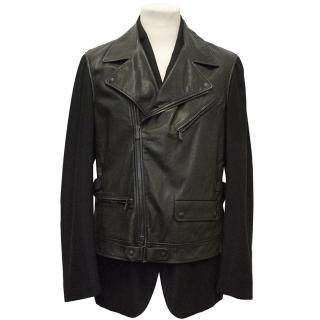 Bottega Venetta Cashmere blazer and Leather Vest Jacket