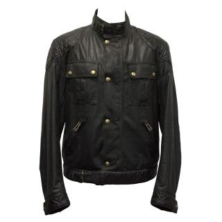 Belstaff Dark Brown Waxed Cotton Jacket