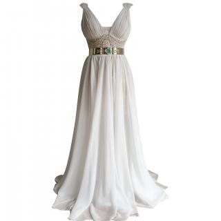 Julie Vino 3 Piece Silk Wedding Dress 8