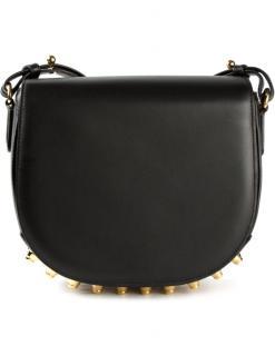 Alexander Wang Black Lia Sling Studded Bag