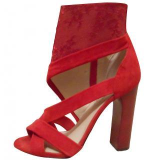 Nicholas Kirkwood Red Heeled Sandals