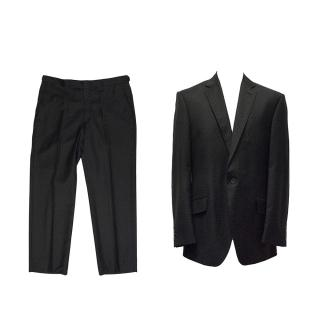 Richard James Black Polka Dot Blazer and Suit