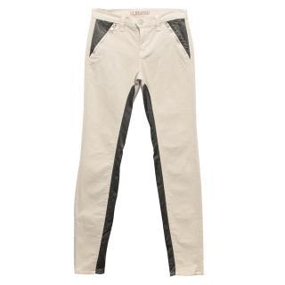 J Brand Nikko Pale Pink Jeans