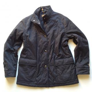 Loro Piana quilted navy windmate jacket