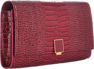 Smythson Clutch/Travel Wallet Berry