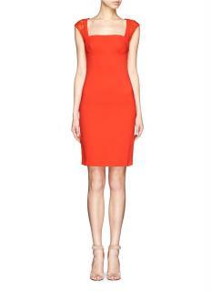 Emilio Pucci Red Lace Dress
