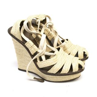 Bottega Veneta Espadrille Wedges