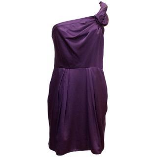 BCBG Max Azria One Shoulder Dress