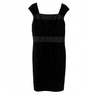 Maxmara Pure Virgin Wool Black Dress