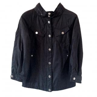 Moschino Black Padded Coat