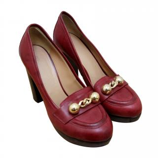 Sonia Rykiel Vintage Design High Heel Loafer Pump (RPP �400)